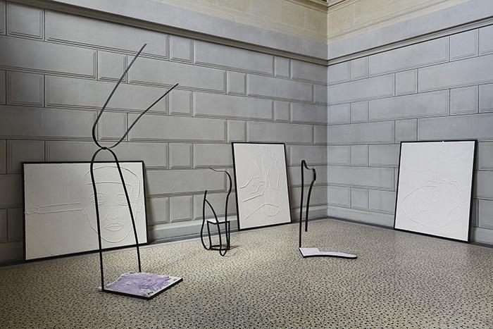 Marc Etienne, <em>TakeCareness</em>, installation, 2018, Fine Arts Museum, Marseille ©JC Lett